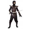 Ninja Fighter Leather Red Child Medium